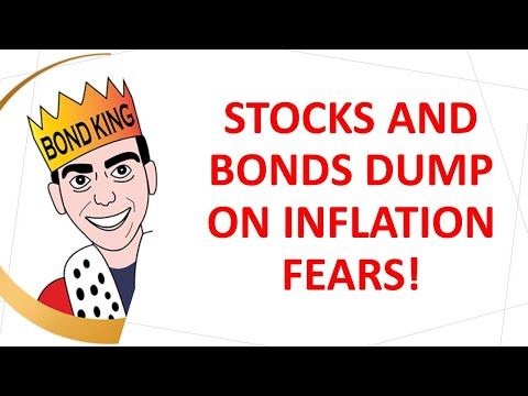 Stocks and Bonds Dump on Inflation Fears!
