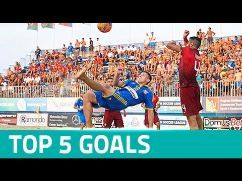 TOP 5 GOALS: Euro Beach Soccer League Superfinal Catania 2016