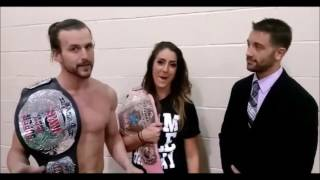 Adam Cole Attends Tony Khan's Memorial Day Party