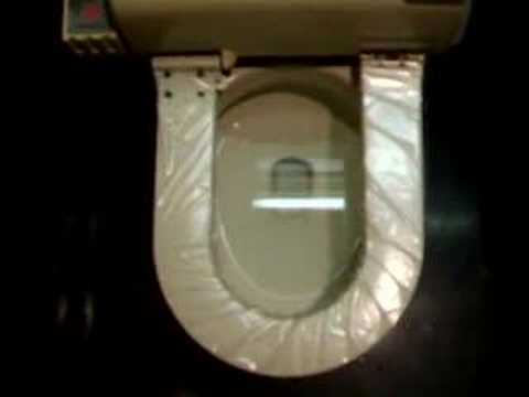 Automatic Toilet Seat Cover Youtube