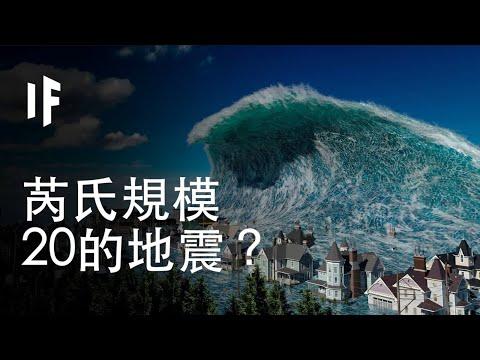 【中配】如果規模20的地震來襲?|大膽科學