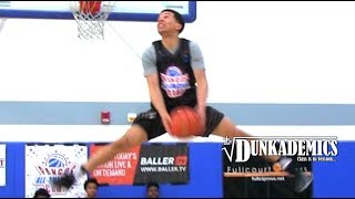 Cole Anthony SHOWS OUT for Pangos AA Camp Day 1!! Sick Dunks!