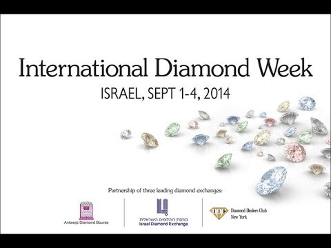 Diamond buyers invited to register for International Diamond Week September 1-4, 2014, at Israel Diamond Exchange