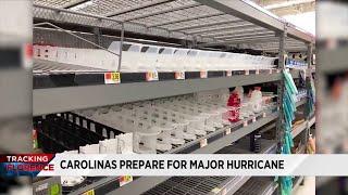Carolinas prepare for major hurricane as Florence closes in