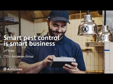 Anticimex | Smart pest control is smart business – Telenor IoT Gathering 2019