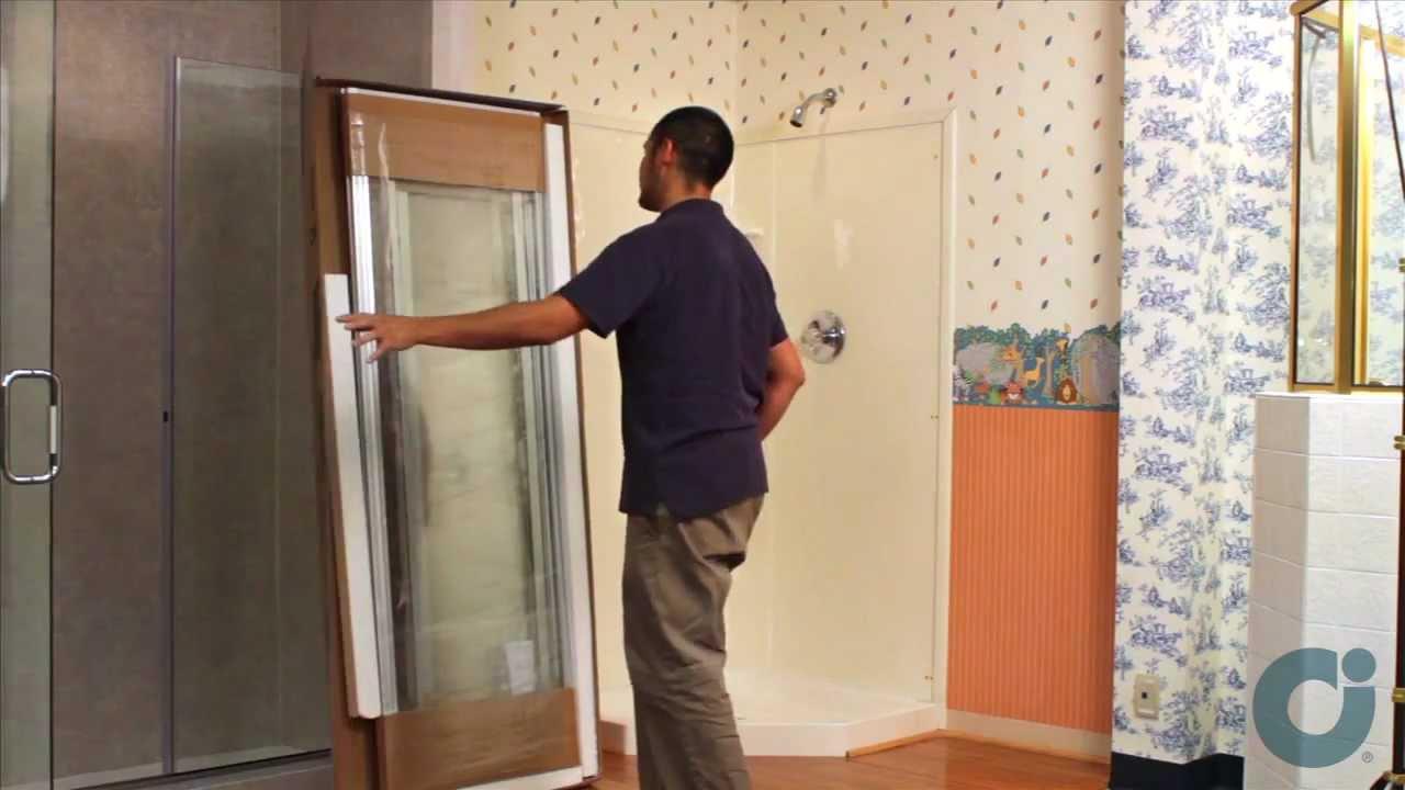 Shower Doors Neo Angle Installation Youtube