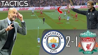 How Pep's Ingenious Tactics Ended Liverpool's Unbeaten Run: Man City vs Liverpool Tactical Analysis