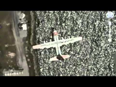 Planes In Flight with Google Earth