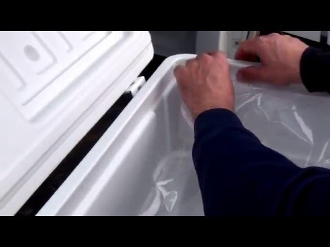 Set Up Allinliner In Your Yeti, Igloo, Coleman, Rubbermaid Cooler or Ice Chests