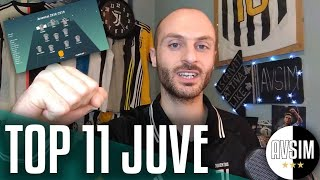 TOP JUVE 2010-2019: i migliori 11 in campo     Speciale Avsim
