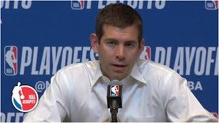 Brad Stevens takes responsibility for the Celtics' season: 'I did a bad job' | 2019 NBA Playoffs