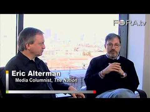 Eric Alterman - Does Print Journalism Have a Future? - YouTube