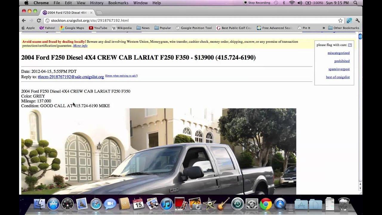Craigslist Stockton CA Used Cars and Trucks - Options ...