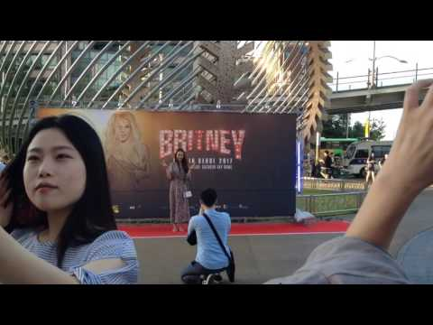 Glimpse of Britney concert in Seoul - korea -June 10 - 2017