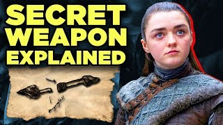 Game of Thrones - ARYA'S SECRET WEAPON EXPLAINED! Season 8 Episode 1 Q&A #WesterosWeekly