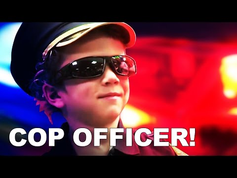 "Kajj's Wish to be a ""Cop Officer"" 