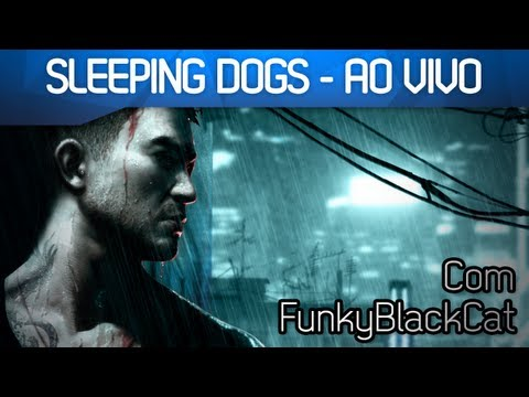 #MonkeyStream Com @FunkyBlackCat - Sleeping Dogs AO VIVO - Smashpipe Games