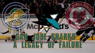 The San Jose Sharks: A Legacy of Failure