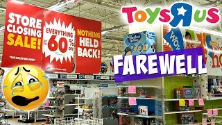 TOYS R US IS CLOSING FOREVER SCOTTSDALE AZ WALK THOUGH  2018