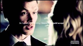 i intend to be your last  klaus  caroline 4x23