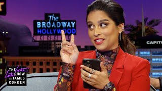 Lilly Singh Reads the First Text James Corden Sent Her