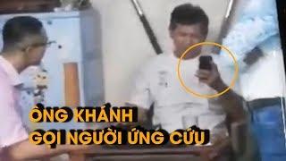 Xuất hiện video mới trong vụ võ sư Khánh bị đánh:Ông Kiệt chỉ muốn nói chuyện