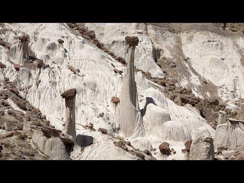 Wahweap & Toadstool Hoodoos, Utah, USA in 4K Ultra HD