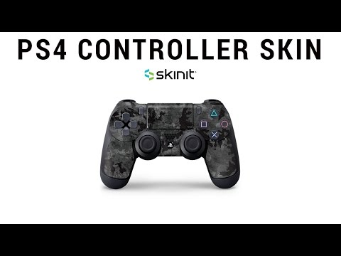 How To Apply PS4 Controller Skin | Skinit