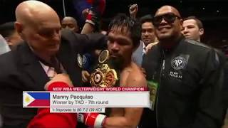 Manny Pacquiao Vs Lucas Matthysse Highlights