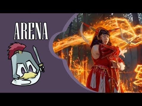 Todos contra o Arena -  Izzet Pyromania | Standard gameplay