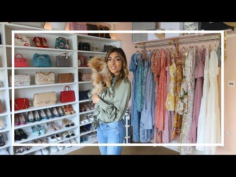 MY DREAM CLOSET & DRESSING ROOM TOUR!   Amelia Liana