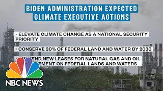 Biden Looks To Begin Climate Policy With Executive Orders | NBC News NOW