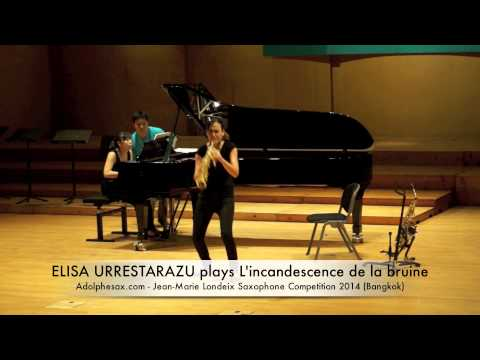 ELISA URRESTARAZU plays L'incandescence de la bruine by Bruno Mantovani