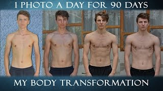 1 photo a day for 90 days | My body transformation