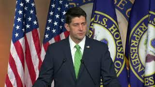 Paul Ryan: John Conyers should 'resign immediately'