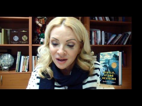Zdena Studenková hovorí o knihe Svetlo, ktoré nevidíme (Anthony Doerr)