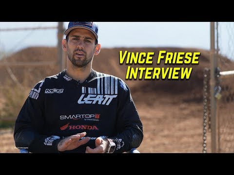 Vince Friese Interview with Motocross Action Magazine