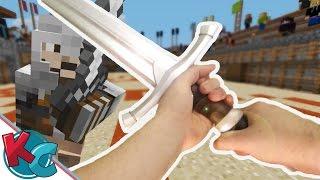 Realistic Minecraft 8 - THE ARENA BRAWL