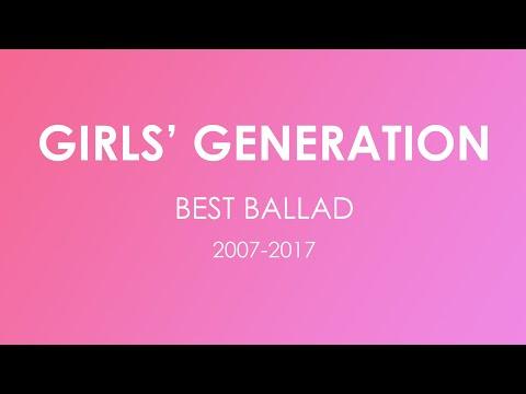 Girls Generation best ballad 2017 collection