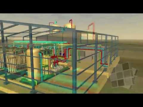 Desalination Plant 3D