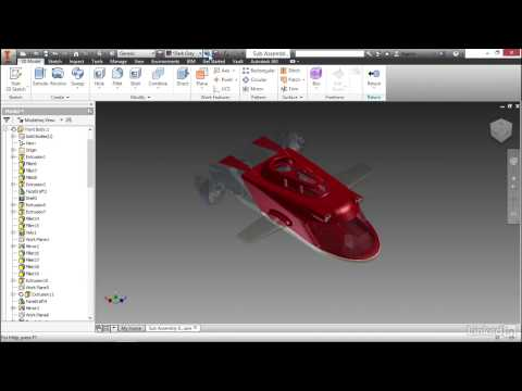Autodesk Inventor: Rendering & Animation | Applying existing appearance styles