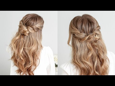 Half Up Twist Braid Knot | Missy Sue