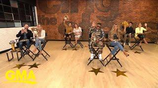 Nelly, Justina Machado, Kaitlyn Bristowe, Nev Schulman talk about their 'DWTS' journey l GMA