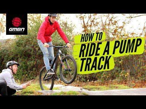 How To Ride A Pump Track | Blake Teaches GCN's Si Richardson MTB Skills