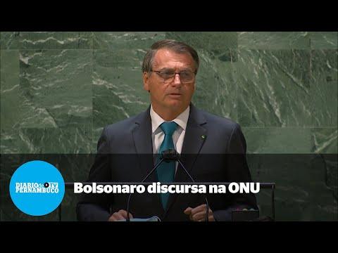 Na ONU, Bolsonaro diz ser contra passaporte sanitário
