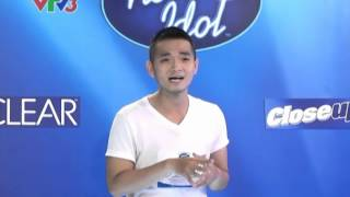 """[Vietnam Idol 2012] Hồng Phước - Warwick Avenue và bài ca """"Vé Vàng Idol"""" tự sáng tác"""