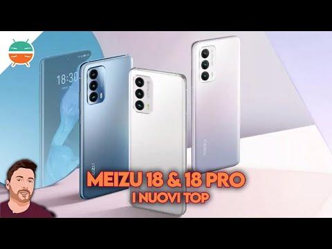 Meizu 18 e 18 Pro UFFICIALI: display SUP …