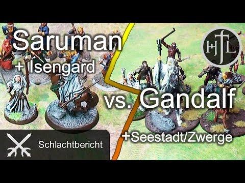 Battlereport - Saruman vs. Gandalf (Mittelerde Tabletop / Hobbit / Herr der Ringe / HdR)
