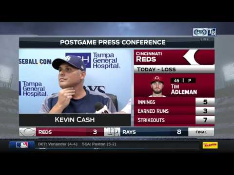 Tampa Bay Rays vs Cincinnati Reds