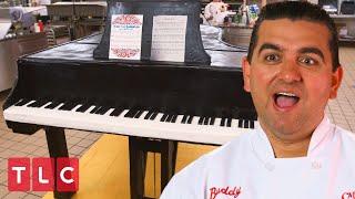 A Life-Size Piano Cake! | Cake Boss